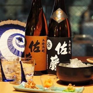 本格和食に合う日本酒&焼酎を厳選!