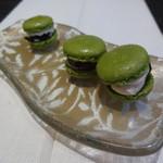 ノガラッツァ - ランチ ギオット 小菓子 自家製マカロン
