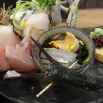 魚源 - お造り@定食