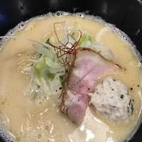麺画廊 英 - 濃厚鶏白湯 光~ひかる~