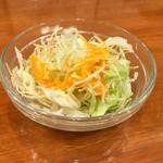 ガーネッシュ - 付け合せのサラダ