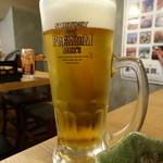泳ぎイカ 九州 うまか - 生ビール