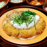 かつ吉 - 柳川風かつ丼(冬季限定)