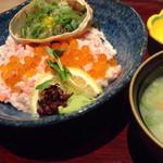生け簀の甲羅 - 甲羅丼