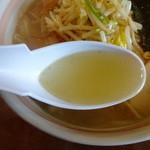 麺屋 おざわ - しおらーめん・スープ