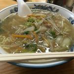 甘味処 山口家本店 - タンメン(590円)