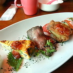 イル サッチアーレ - 前菜5種盛り合わせ