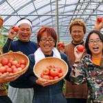 炭焼家 てんぷす - 地元トマトの農家さん