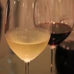 イタリアン食堂 良's - 白ワイン(グラス)