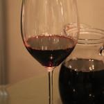 イタリアン食堂 良's - 赤ワイン(500ml)
