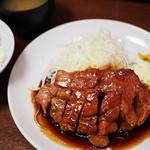 大阪トンテキ - トンテキ定食(820円)