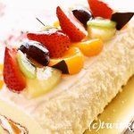 菓子畑 - 料理写真:ロールケーキ