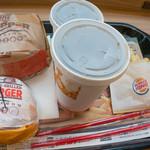 バーガーキング - 5.0コーラMコンビ(790円)とアボガドバーガーポテトSセット(500円)