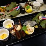 日本料理 まめぞう - 料理写真:2016.04 焼物盛り合せ(2人盛×2)