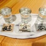 栞屋一會 - 日本酒呑み比べセット
