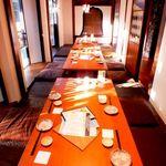 栞屋一會 - 会社宴会ができるお部屋。最大で30名様までの大型ご宴会もOKです