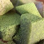 町家かふぇ 南風茶屋 - 料理写真:わらび餅 抹茶
