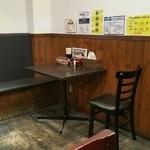 てっぺん - 2人掛けテーブル
