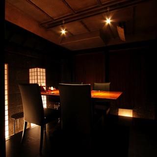 魅力的な個室で広々と贅沢に◎10名様以上も対応可能!!
