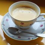 ご当地ファーム山の駅 大山望 - サービスのコーヒー