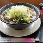ご当地ファーム山の駅 大山望 - 料理写真:醤油ラーメン大盛り(850円)