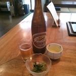 御食事処 一休 - 料理写真:ラガービール