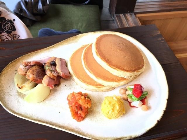 パンケーキ ラボ  和 - 鴨肉のバルサミコ