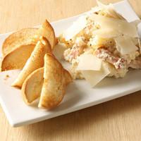 キリンガーデン - 贅沢ほどのパルミジャーノチーズと香り高いトリュフ塩入りポテトサラダ。