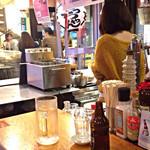 てっちゃん - リンちゃんの串焼き、いい焼き具合なんです。