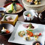 志田屋 - 料理写真:コース料理の一例