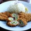 串膳 - 料理写真:三色ヒレかつ