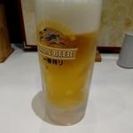 京らーめん 糸ぐるま - 生ビール