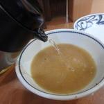 つけめんでんまる - スープ割りもしっかり頂きました