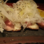 紗羅餐 - 鴨のオニオンサラダ