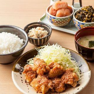 【ランチ】やまやのランチはやっぱり辛子明太子&辛子高菜