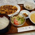 虎龍 - 麻婆豆腐定食