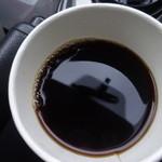 テーラード コーヒー - フタ取ったの図