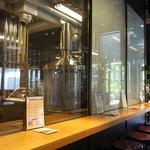 スプリングバレーブルワリー東京 - 醸造設備