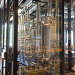 スプリングバレーブルワリー東京 - 発酵タンク