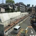 スプリングバレーブルワリー東京 - 真下に東急線が