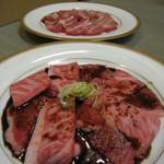 肉料理 阿蘇 - 手前、焼肉一人前