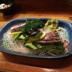 ぶんご - 料理写真:関サバ刺身