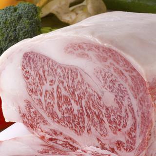 国産牛肉と松阪ポーク食べ放題コース