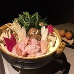 50303503 - 鶏肉のすき焼き鍋☆