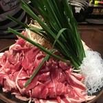おこし屋北海道 - お肉と野菜盛り合わせ