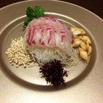 50310993 - 天然鯛の中国式刺身(2人分)