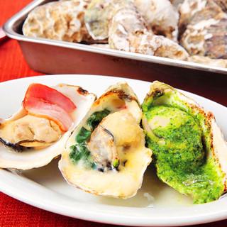 旬の味をご堪能いただける各地の牡蠣をご用意しております♪