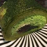 50316693 - 天竜抹茶とわらび餅のロール2016.4