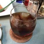 ふぢの - コーヒー焼酎の水割り