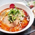 ティーヌン - 料理写真:トムヤムラーメンセット